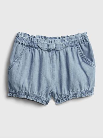 GAP - Baby Denim Bubble Shorts LIGHT WASH