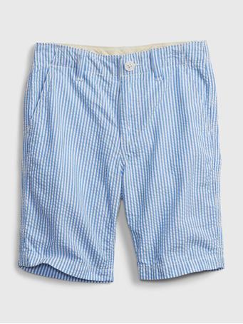 GAP - Kids Woven Shorts SEERSUCKER STRIPE