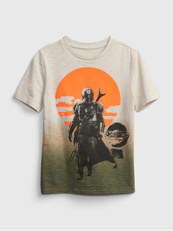 GAP - Kids Star Wars Dip-Dye Graphic T-Shirt SLICK ROCK