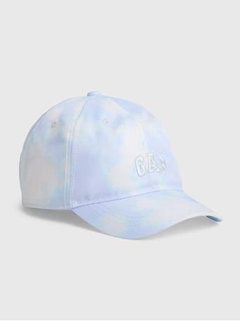 GAP - Kids Tie-Dye Gap Logo Baseball Hat BLUE TIE DYE