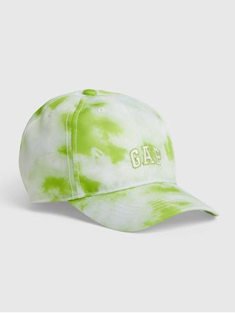 GAP - Kids Tie-Dye Gap Logo Tie-Dye Hat GREEN TIE DYE