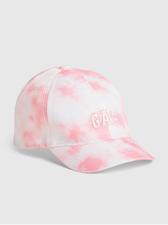 GAP - Toddler Tie-Dye Gap Logo Baseball Hat PINK TIE DYE