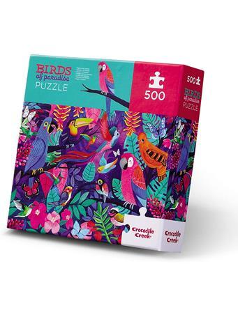 CROCODILE CREEK - Birds Of Paradise 500 Piece Puzzle NO COLOR