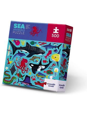 CROCODILE CREEK - Sea Animals 500 Piece Puzzle NO COLOR