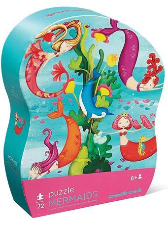 CROCODILE CREEK - Mermaids 72 Piece Puzzle NO COLOR