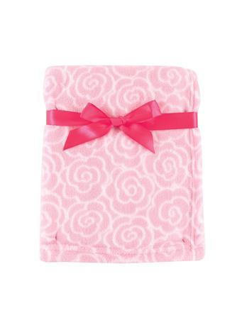 BABYVISION - Luvable Friends Coral Fleece Blanket, Pink Rose NO COLOR