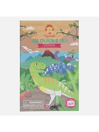 TIGER TRIBE - Dinosaur Colouring Set NO COLOR