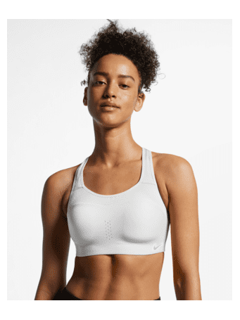 NIKE - Alpha Women's High-Support Padded Sports Bra WHITE