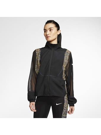 NIKE -  Icon Clash Women's Running Jacket BLACK/SAPHIRE