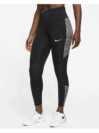 NIKE - Icon Clash Fast Training Tights BLK/ORNG