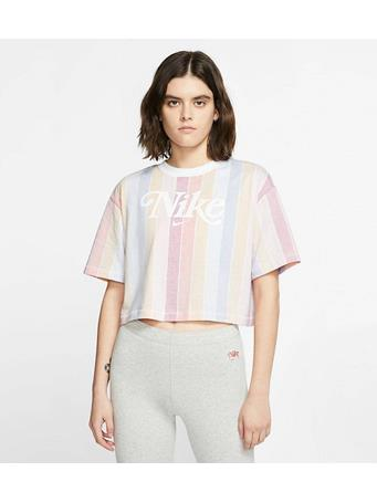 NIKE - Retro Crop Top TRACK RED