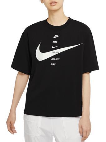 NIKE - Sportswear Women's Short-Sleeve Top BLACK