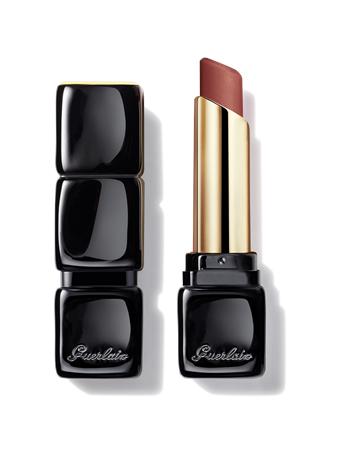 GUERLAIN - KISSKISS TENDER MATTE - 16H Comfort Lightweight Luminous Matte Lipstick 258 LOVELY NUDE