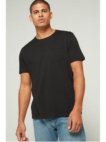 GAP - Everyday Crewneck Pocket T-Shirt TRUE BLACK