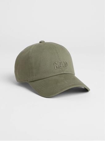GAP - Logo Twill Baseball Hat OLIVE