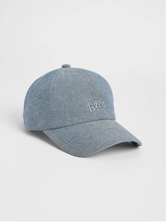 GAP - Logo Twill Baseball Hat CHAMBRAY 042