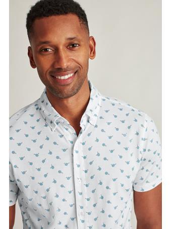 BONOBOS - Jersey Riviera Shirt (Slim Fit) ping pong c12