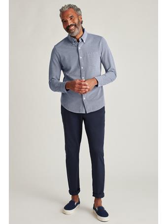 BONOBOS - Knit Oxford Ls Button Down (Regular Fit) CONSTELLATION OXFORD