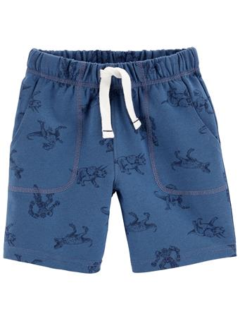 CARTER'S - Dinosaur French Terry Shorts NO COLOR