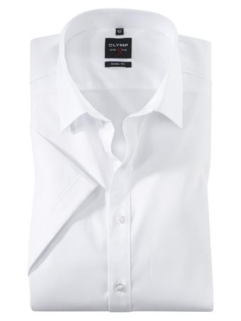 OLYMP - Body Fit Business Shirt New York Kent WHITE