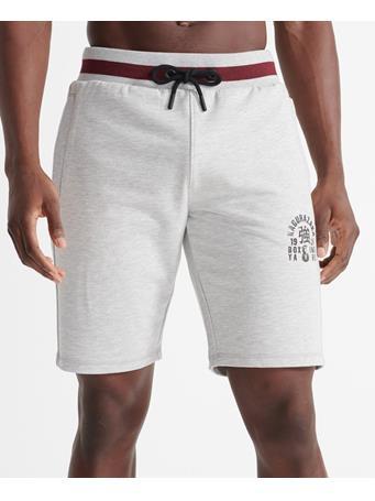 SUPERDRY - Training Boxing Yard Shorts  GREY MARL