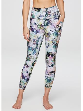 RBX ACTIVE - Watercolor Floral 7/8 Legging FL WATERCOLOUR