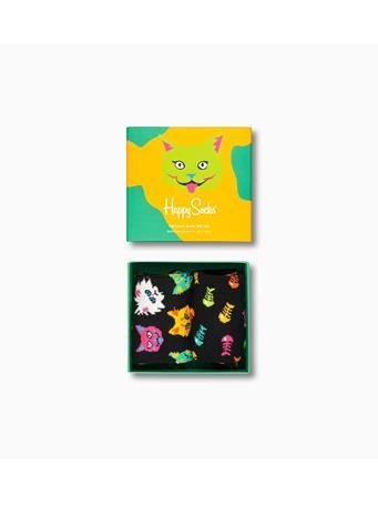 HAPPY SOCKS - Cat Lover Gift Box 2-Pack MULTI