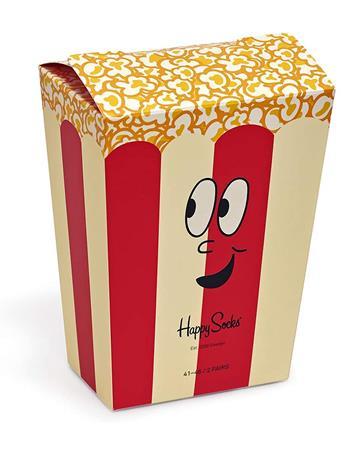 HAPPY SOCKS - 2-Pack Snack Lover Gift Box MULTI