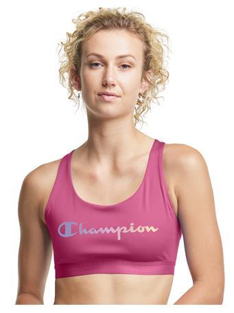 CHAMPION - Absolute Eco Print Sports Bra EFS FUSHIA