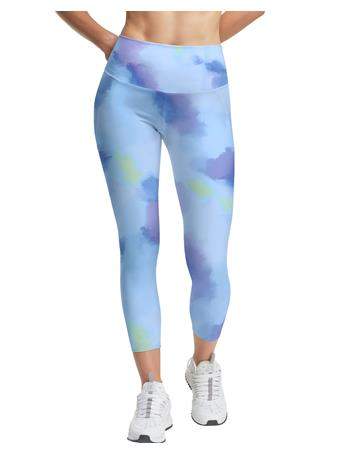 CHAMPION - Absolute Eco 3/4 Tights Print, 23inch AEKD CANDID BLUE