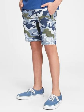 GAP - Kids Fit Tech Shorts CAMOUFLAGE