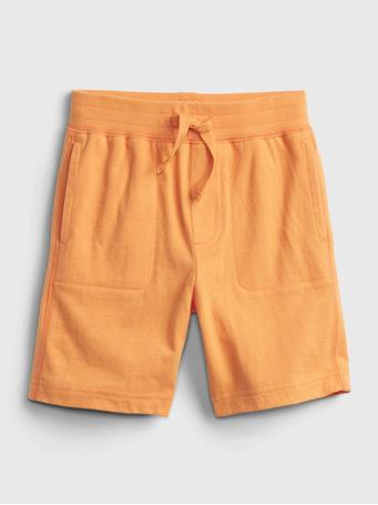 GAP - Toddler 100% Organic Cotton Mix and Match Pull-On Shorts ORANGE SUN 887