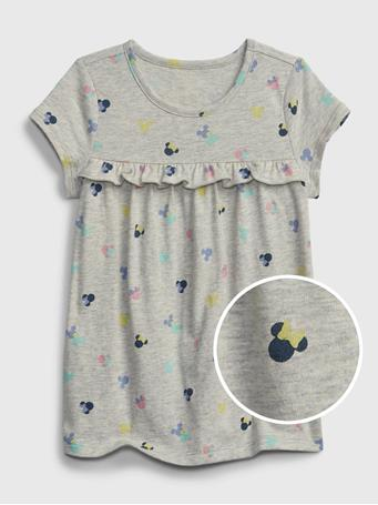 GAP - Disney Minnie Mouse 100% Organic Cotton Mix and Match Tunic Top MINNIE MOUSE PRINT