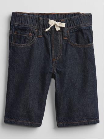 GAP - Toddler Pull-On Denim Shorts DARK WASH