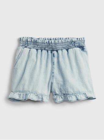 GAP - Toddler Denim Pull-On Shortie Shorts ACID WASH