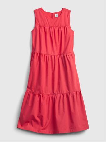 GAP - Kids Tiered Dress CHAMBRAY 042
