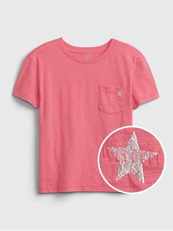 GAP - Kids 100% Organic Cotton T-Shirt APPLE BLOSSOM