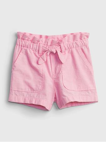 GAP - Toddler Pull-On Shorts PINK CHAMBRAY