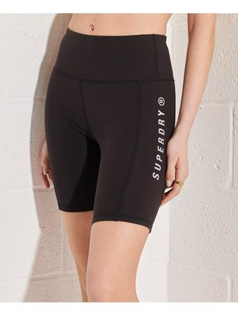 SUPERDRY - Active Lifestyle Cycle Short BLACK