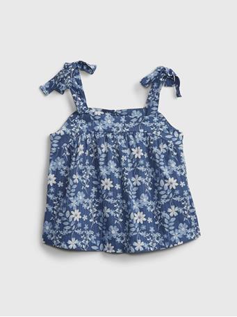 GAP - Kids Floral Top BLUE FLORAL