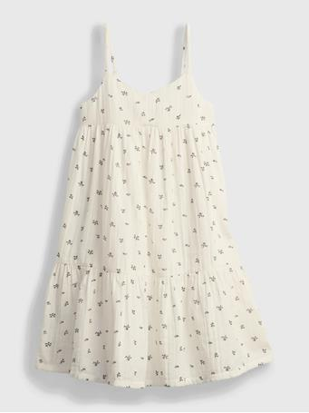 GAP - Kids Tiered Dress NEW OFF WHITE FLORAL