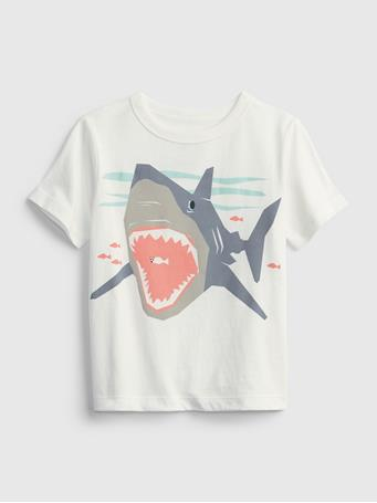 GAP - Toddler 100% Organic Cotton Mix and Match Graphic T-Shirt NEW OFF WHITE