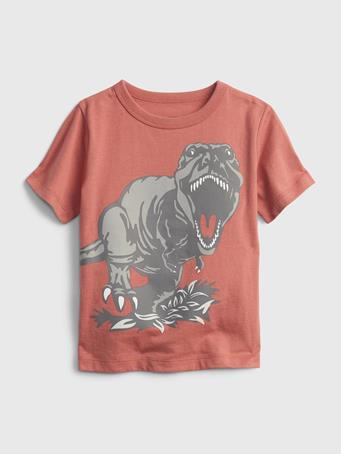 GAP - Toddler 100% Organic Cotton Mix and Match Graphic T-Shirt EARTHENWARE RED 327