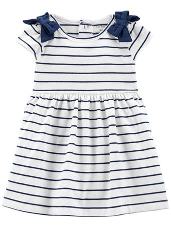 CARTER'S - Striped Jersey Dress NO COLOR