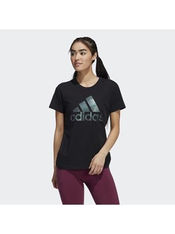 ADIDAS - Holiday Graphic Short Sleeve Tee BLACK