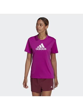 ADIDAS - Primeblue Designed 2 Move Logo Sport T-Shirt FUSHIA