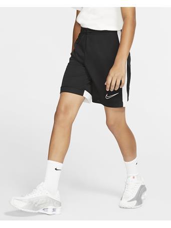 NIKE - Dri - Fit Academy Short  BLACK WHITE