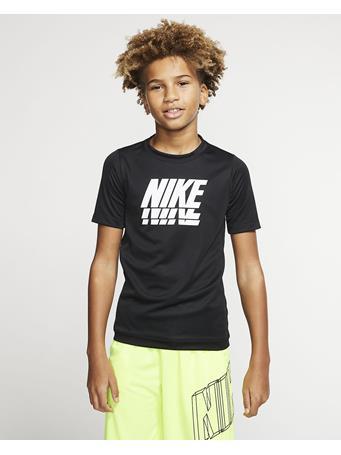 NIKE - Short Sleeve Top BLACK