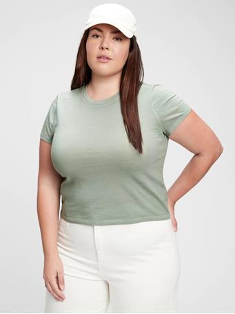 GAP - Shrunken T-Shirt SAGE