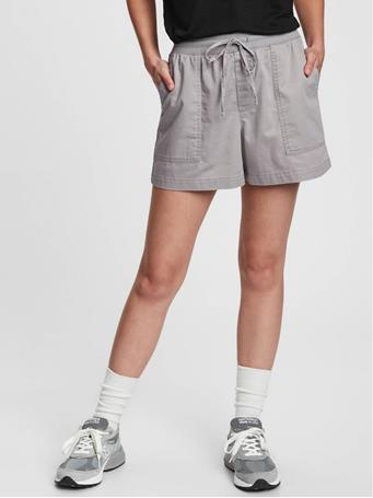 GAP - Ribbed Pull-On Shorts ANTIQUE PEWTER 415